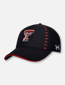 Under Armour Texas Tech Red Raiders Sideline Men's Blitzing 3.0 Accent Stretch Fit Cap