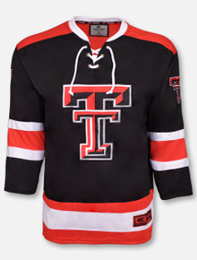 "Arena Texas Tech Red Raiders ""Athletic Machine"" Hockey Sweater Jersey"