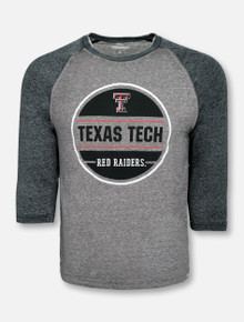 "Arena Texas Tech Red Raiders ""Riding Lawn Mower"" Raglan T-Shirt"