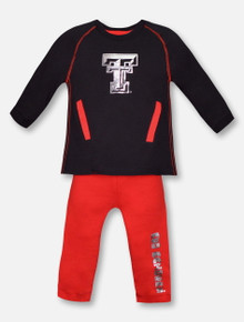 "Arena Texas Tech Red Raiders ""Nice Kick"" INFANT Tunic and Legging Set"