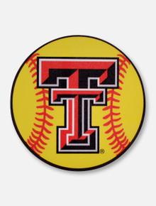 Texas Tech Red Raiders Double T Softball Decal