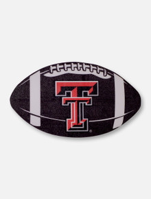 Texas Tech Red Raiders Double T Football Decal