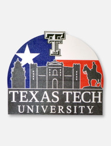 Texas Tech Red Raiders Sunset Decal
