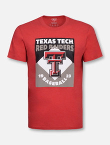 "47 Brand Texas Tech Red Raiders ""Split Squad"" T-Shirt"