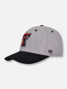 "47 Brand Texas Tech Red Raiders  Double T ""Morgan"" Contender Stretch Fit Cap"
