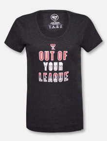 "47 Brand Texas Tech Red Raiders Out of Your League ""Too Good Club"" T-Shirt"