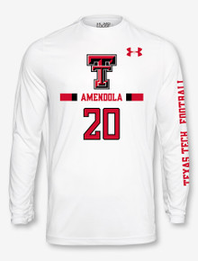 Under Armour Texas Tech NFL Amendola Longsleeve Tee (PRE-ORDER 8/13)