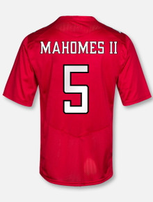 Under Armour Texas Tech NFL Mahomes  Red Jersey (EXPECTED SHIP 8/13)