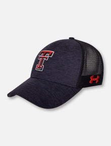 Under Armour Texas Tech Red Raiders Under Armour Mens Twist Closer 3.0 Trucker Snapback Hat