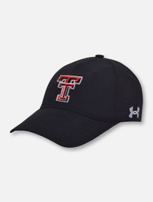 Under Armour Texas Tech Red Raiders Airvent Coolswitch Stretch Hat