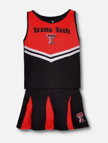 "Arena Texas Tech Red Raiders ""Pom Pom""TODDLER Cheerleading Set"
