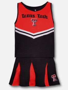 "Arena Texas Tech Red Raiders ""Pom Pom"" YOUTH Cheerleading Set"