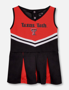 "Arena Texas Tech Red Raiders ""Pom Pom"" INFANT Cheerleading Set"