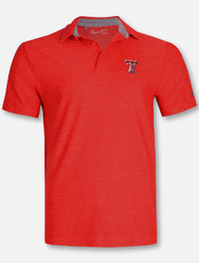 Under Armour Texas Tech Red Raiders Playoff Tonal Heather Polo
