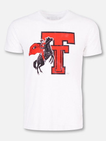 Texas Tech Vintage Masked Rider Double T T-Shirt