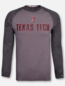 """Arena Texas Tech Red Raiders """"Social Skills"""" Long Sleeve Tshirt"""