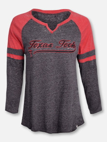 "Arena Texas Tech Red Raiders ""Bubblicious"" Long Sleeve T-Shirt"