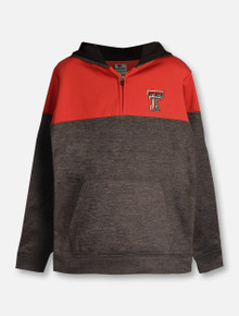 "Arena Texas Tech Red Raiders ""Hanson"" YOUTH 1/4 Zip Pullover Hoodie"