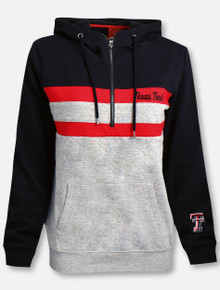 "Arena Texas Tech Red Raiders ""Play the Game"" 1/4 Zip Hoodie"