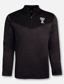 "Arena Texas Tech Red Raiders ""Cougars Blackout"" 1/4 Zip Jacket"