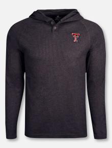 "Arena Texas Tech Red Raiders ""Porsche"" Hooded Long Sleeve T-Shirt"