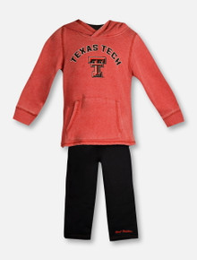 "Arena Texas Tech Red Raiders ""Shot at the Pros"" TODDLER Hoodie Set"