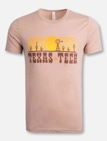 Texas Tech Red Raiders Riding Into The Sunset T-Shirt