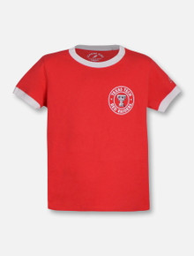 League Texas Tech Red Raiders YOUTH Camp Ringer Tee