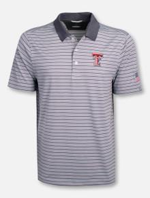 """Cutter & Buck Texas Tech Red Raiders """"Surge Stripe"""" Polo"""