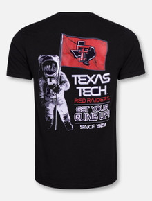 Texas Tech Red Raiders Moon Man T-Shirt