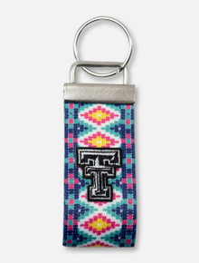 "Texas Tech Red Raiders ""Aztec Citrus"" Key Fob"