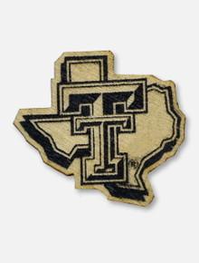 Texas Tech Red Raiders Texas Tech Pride Logo Wooden Lapel Pin