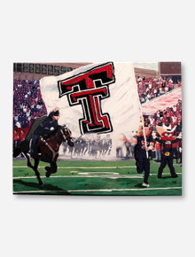 Glory Haus Texas Tech Red Raiders Stadium Football Field Entrance Canvas Wall Decor