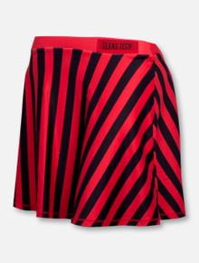 Texas Tech Red Raiders Striped Spirit Skirt