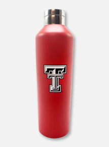 """Texas Tech Red Raiders Black and White Double T """"Manhattan"""" Water Bottle"""