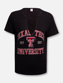 "Texas Tech Red Raiders ""Comeback"" Cutout T-Shirt"