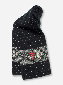 "47 Brand Texas Tech ""Catamount"" Black & White Scarf"