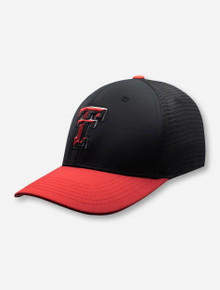 "Top of the World Red Raiders Texas Tech ""Chatter"" Fitted Cap"