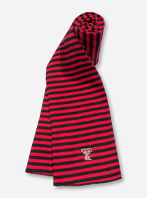 Texas Tech Double T Red & Black Scarf