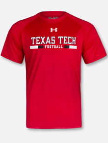 "Under Armour Texas Tech Red Raiders ""Play Book""  Short Sleeve T-Shirt"