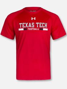 "Under Armour Texas Tech Red Raiders ""Play Book""  Short Sleeve T-Shirt"