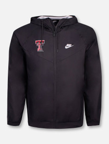 """Nike Texas Tech Red Raiders Double T """"Windrunner"""" Jacket"""