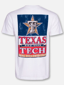 "Texas Tech Red Raiders ""Lone Star Banner"" T-Shirt"