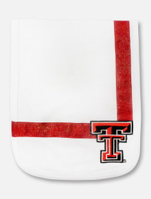 Texas Tech Red Raiders Double T Shimmer Burp Cloth