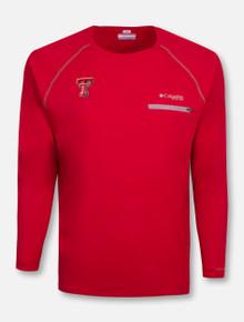 """Columbia Texas Tech Red Raiders """"Cool Catch Tech Zero"""" Long Sleeve T-Shirt"""