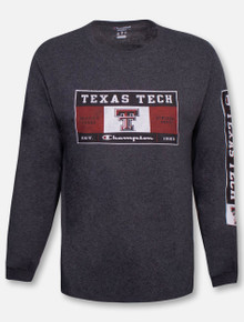 "Champion Texas Tech Red Raiders ""Varsity Issue"" Long Sleeve T-Shirt"