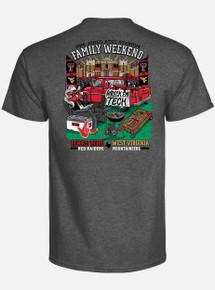 Texas Tech Red Raiders 2018 Texas Tech VS West Virginia Family Game T-Shirt (PRE-ORDER SHIPS 9/26)