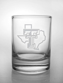 Texas Tech Red Raiders Etched Pride Logo Votive