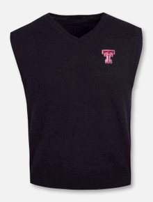 RRO Signature Collection Texas Tech Double T Cashmere Vest