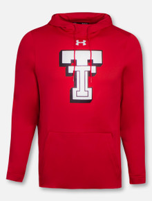 2b93a1ab33421 Under Armour Texas Tech Red Raiders Throwback Double T Fleece Hoodie